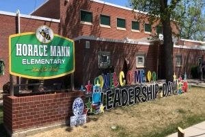 Horace Mann Elementary hosts first-ever Leadership Day
