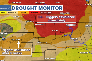 Extreme drought triggers LFP federal assistance in Black Hills Region