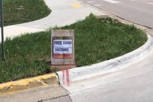 Free COVID-19 vaccines being distributed near Rapid City Central High School