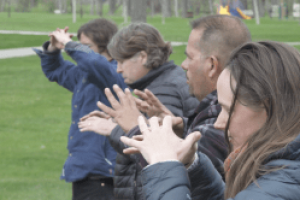Chinese practice of Qigong helps calm nervous system