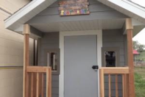 CASA brings back their playhouse raffle