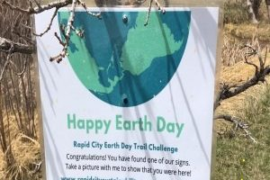 RC Sustainability Committee, Dakota Rural Action sponsor first-ever Earth Day Trail Challenge
