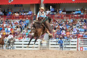 Women's ranch bronc riding returns to Black Hills Roundup
