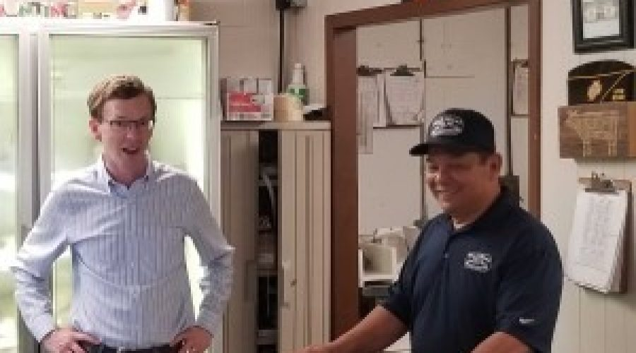 Johnson visits Wall Meat facility, praises interstate agreement
