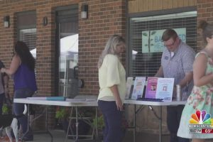 Local businesses put together barbecue to raise money for OneHeart