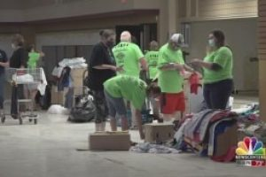 """First """"homeless connect"""" event in two years creates one-stop shop for homeless resources"""