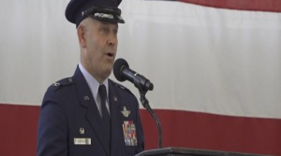 Ellsworth AFB change of command looks for smooth transition with B-21 arrival
