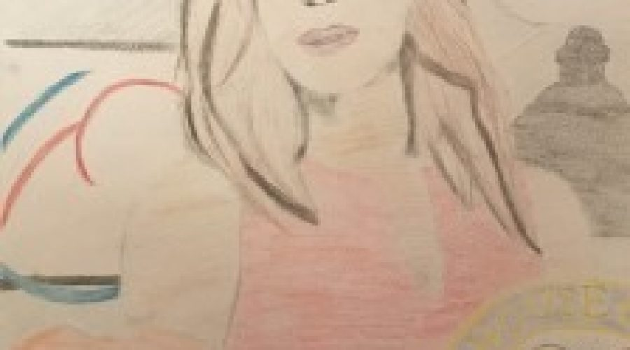 """Two West River students win statewide """"Know Her Story"""" art contest"""