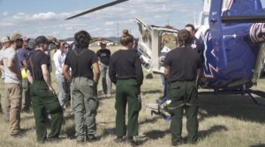 Tenth annual Helicopter Medevac Training prompts learning among firefighters