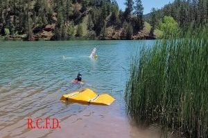 Water Rescue Team holds safe salvage operations training