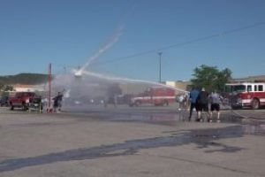 Guns'n'Hoses back at the mall encouraging blood donations