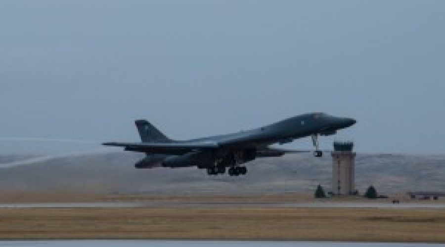 Ellsworth B-1's to perform flyover at Crow Native Days Veterans event