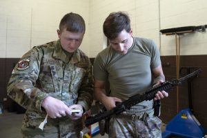 Ellsworth 28th Security Forces Squadron first to receive new weapon systems