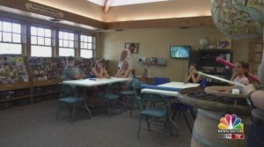 """Belle Fourche """"Family Fun Day"""" lets kids get in on the Olympic action"""