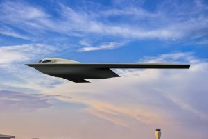 B-21 rendering released showing the new $639M aircraft