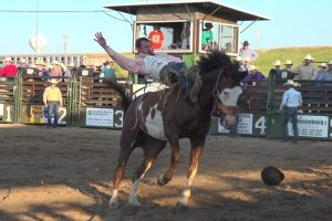 Wall Celebration Rodeo: Howlett, O'Connell finish 1-2 in the Bareback Riding