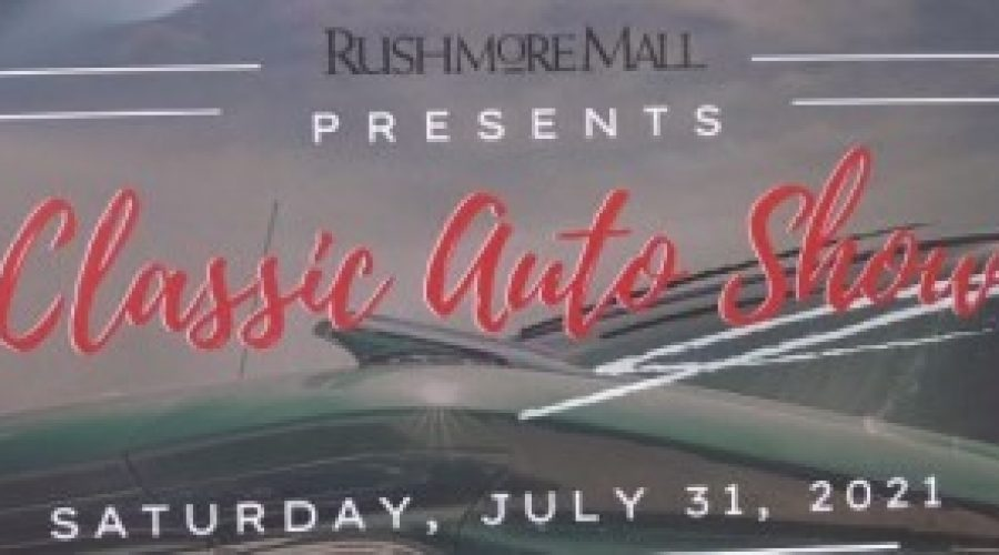 Classic Auto Show happening at Rushmore Mall on Saturday