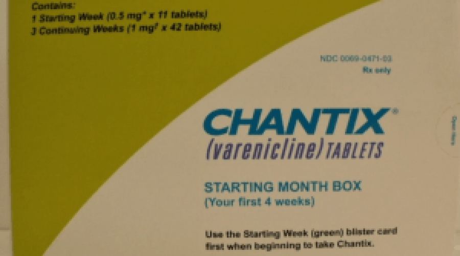 Pfizer issues a voluntary recall for 12 lots of Chantix