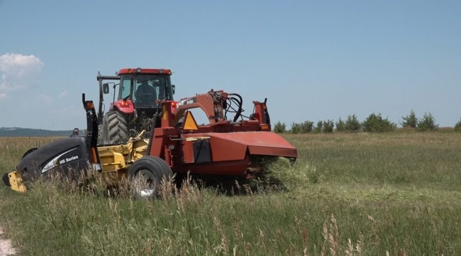 Farmers, Ranchers taking fire safety precautions during drier haying season