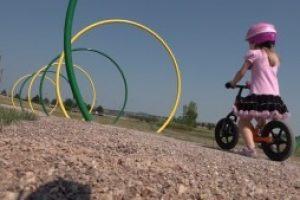 Strider Bikes, City of Rapid City unveils Robbinsdale Park Bicycle Playground