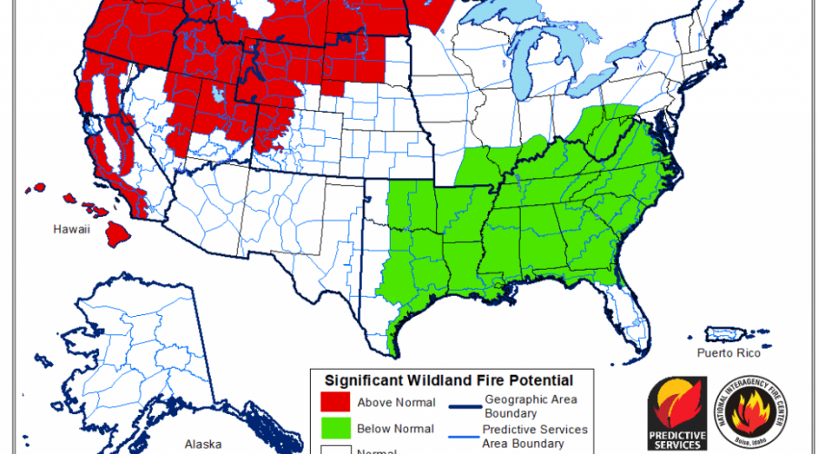 """State Fire Meteorologist: """"I'm worried"""" looking ahead to July"""
