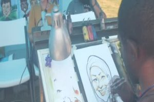 Connect With Us – Central States Fair Caricatures