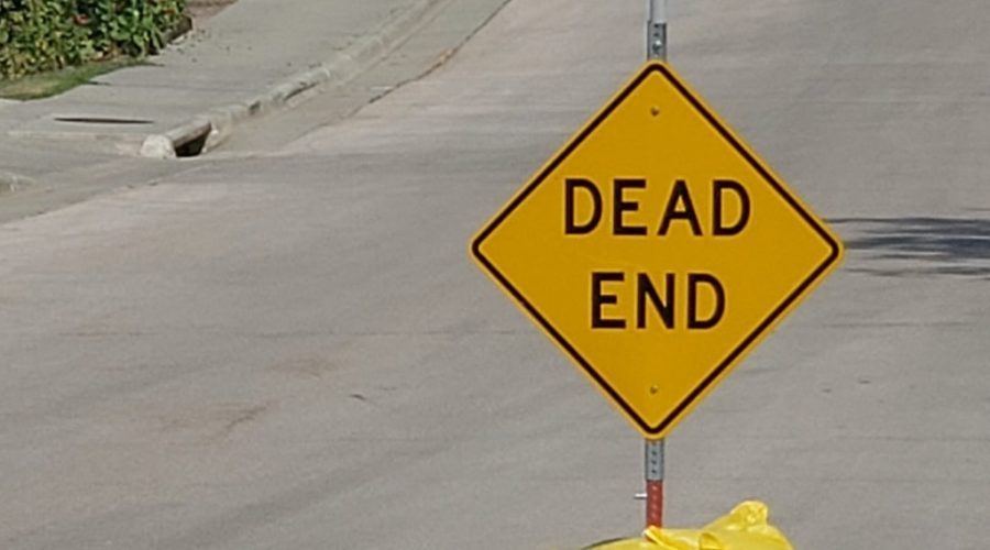 Dead End signs go missing in Sturgis