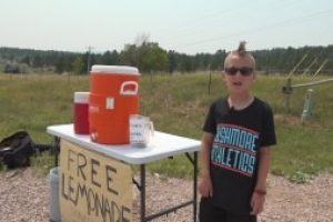 CHARITIBLE GIVING: Eight-year-old raising money for St. Jude Children's Research Hospital