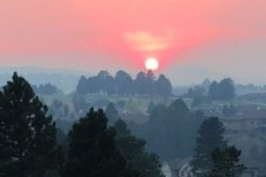 Gaps in wildfire smoke warning network leave people exposed