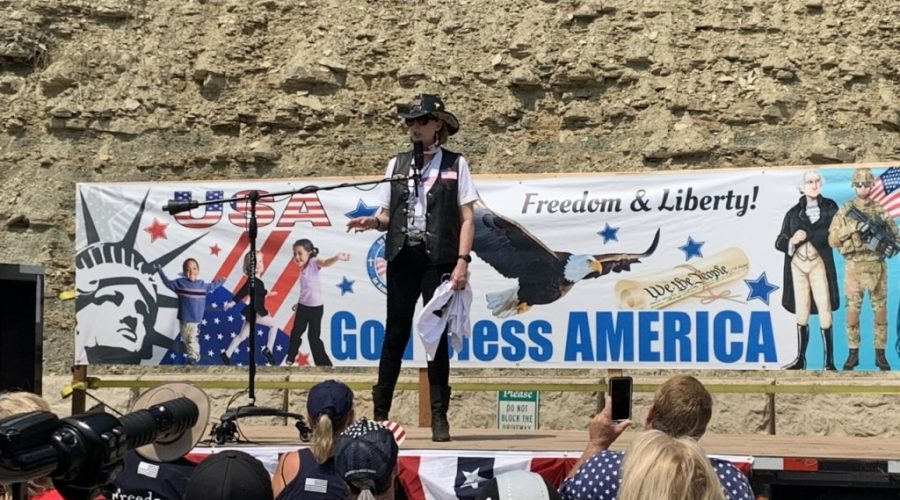 """Inaugural """"Old Glory Patriot Ride"""" roars into Deadwood"""