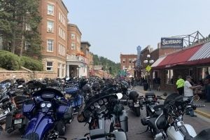 14th annual Legends Ride roars out of downtown Deadwood