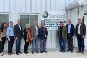 Sanford Underground dedicates building to Sen. Rounds