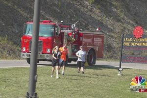 Lead V.F.D. holds first ever 9/11 Memorial Mile fundraiser
