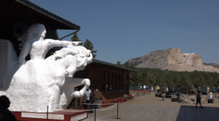 POW MIA Chair arrives at Crazy Horse Monument