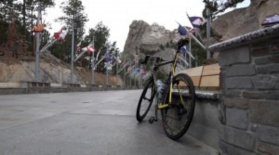 Olympic Silver Medalist, Cal's Angels kick off charity bike ride at Mt. Rushmore