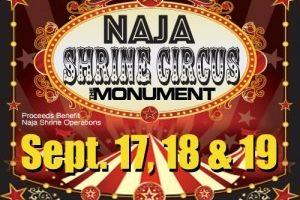Naja Shrine Circus coming to The Monument