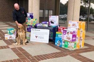 Diaper Needs Awareness Week diaper drive total sets city record thanks to generous community