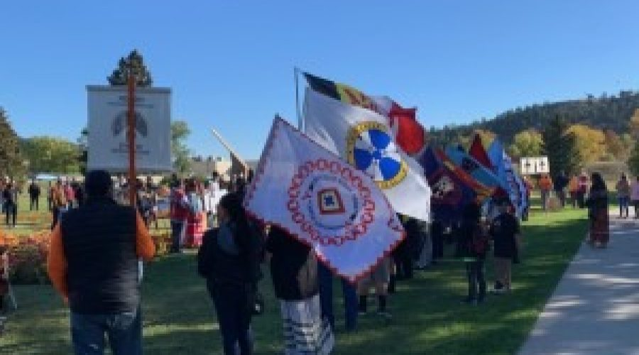 Rapid City marks Native Americans' Day with walk to remember lost Boarding School children